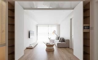 简约单身公寓装修装饰效果图