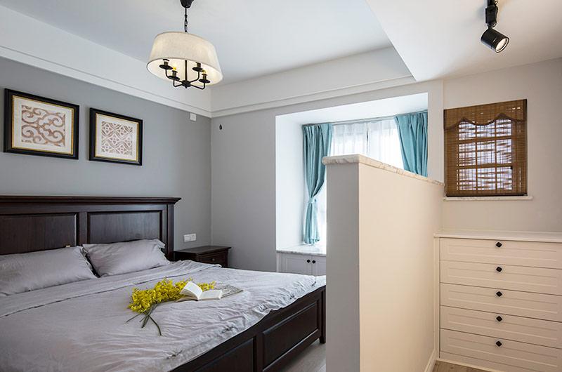 80平北欧风格三居主卧室装修