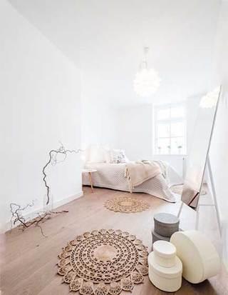 北欧风卧室设计实景图