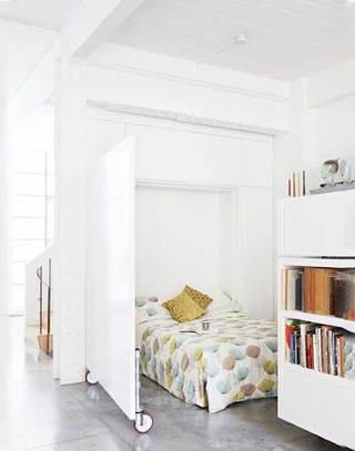 北欧风卧室装修欣赏图片
