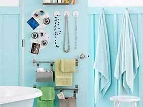 浴室整理能手  10款浴室收纳装饰图