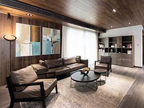 130平现代简约风格公寓装修图 旅行者1号