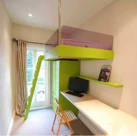 卧室高低床设计参考图