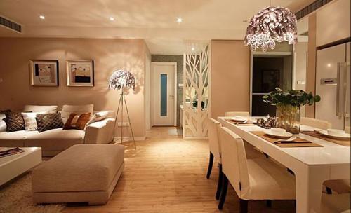 一百二十平米房子装修图片 5万元简装120平米三室二卫