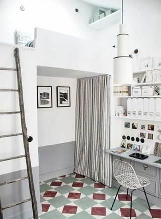 卧室高架床装修图片大全
