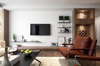 200平简约大户型装修客厅设计图