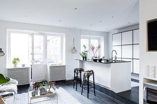 北欧风格小户型旧房改造装修 阳光让家新生2/10