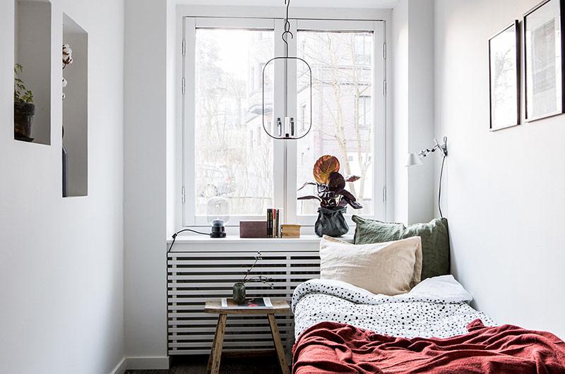 北欧风格一居室装修卧室装修图