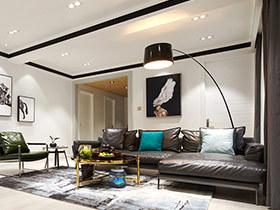 190平现代前卫风格三房二厅设计 行走的摩登