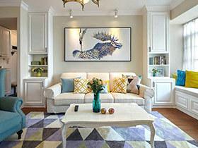 140平简约风格两房两厅装修 慢板与舒缓