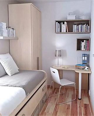 小户型独立书房装修图