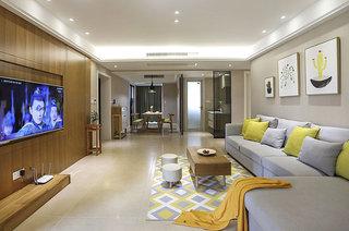 北欧风格婚房装修转角沙发图