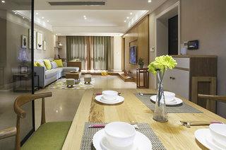 北欧风格婚房装修餐厅效果图
