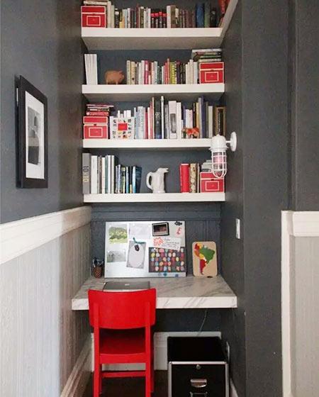 小户型装修书房设计图