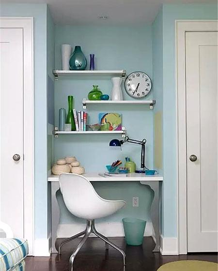 小户型简易书房装修设计