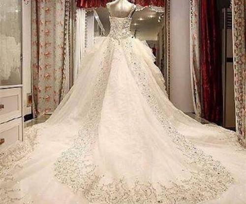 纱的图片鉴赏 2017流行的婚纱礼服款式