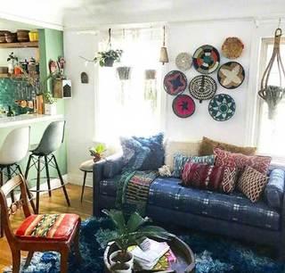 室内绿植布平面图