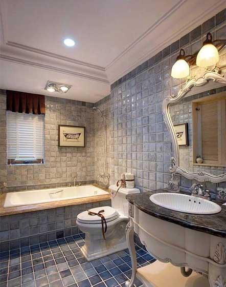 小户型浴室装修装饰效果图