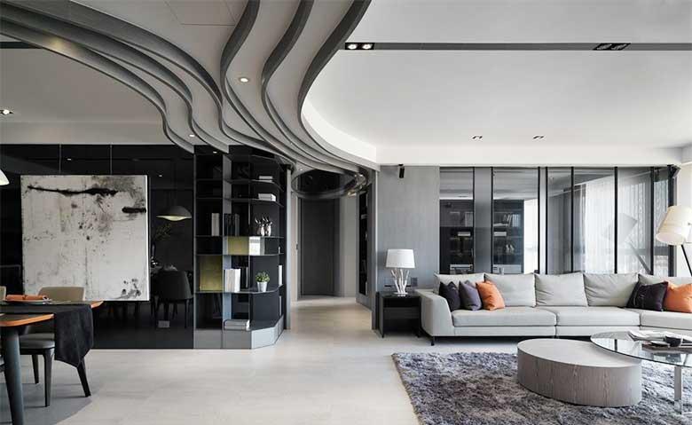 室内创意背景墙装修装饰效果图