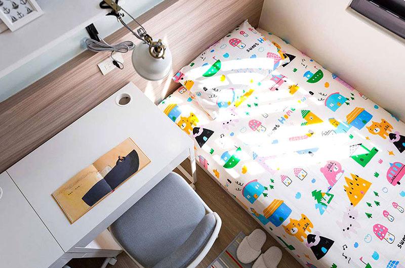 北欧风格复式楼儿童房装修