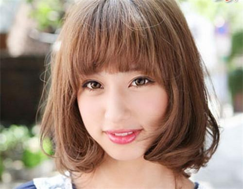 方形脸新娘发型图片欣赏 方脸适合做什么发型图片图片