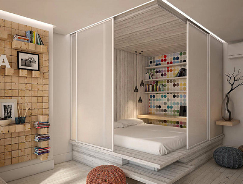 30平米酒店式公寓装修效果图 图片