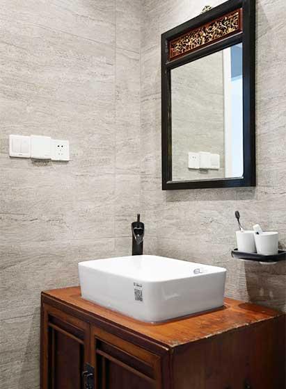 142㎡三居室洗手池平面图