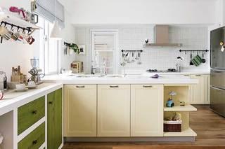 厨房收纳设计布置图片
