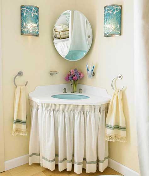 小清新洗手池装修效果图