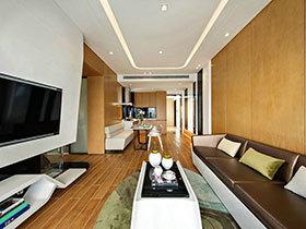 89平现代简约风格样板房装修 简单背后的巧思
