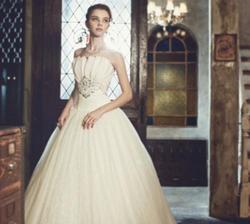 公主型婚纱图片大全 婚纱风格类型介绍图片
