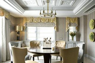 新古典风格复式楼餐厅效果图