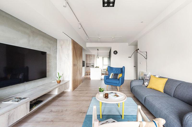 北欧风格公寓装修客厅装修图