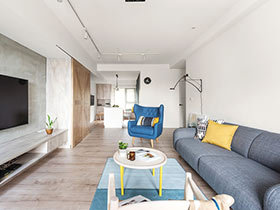 北欧风格公寓装修效果图 玩出童趣味