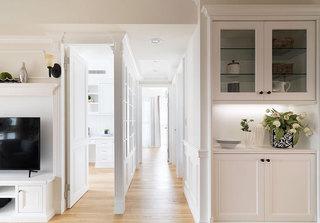 100平米美式两居室走廊图片