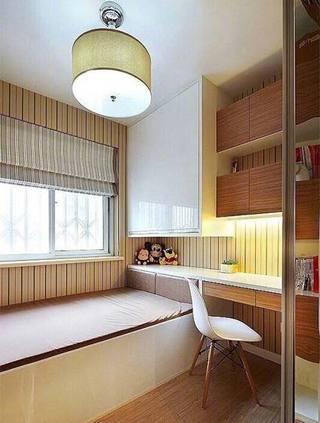 现代风格书房榻榻米构造图