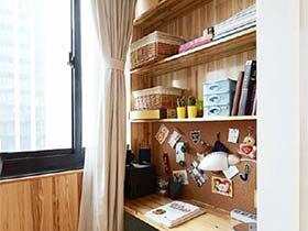空间的二次创作  10个阳台改造书房图片