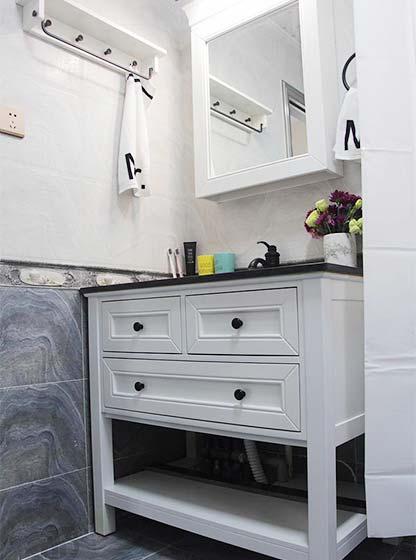 两居室洗手池平面图