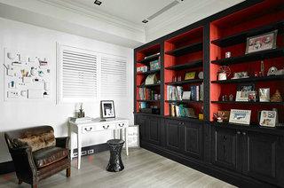 210平新古典风格装修书房装修图片