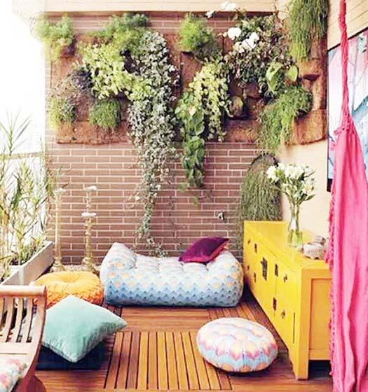阳台花园设计欣赏图
