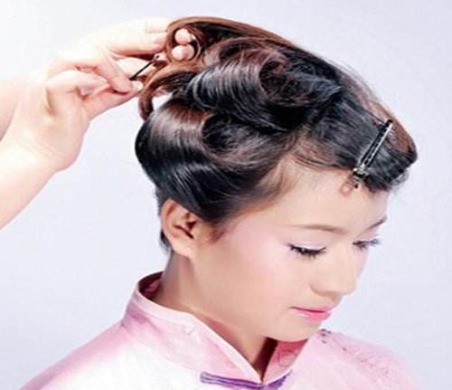 新娘古装发型教程2017 古装新娘发型如何打造
