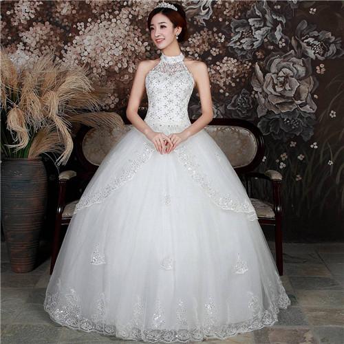 10,天蝎座新娘婚纱 拥有神秘之感可以说是天蝎座新娘的一个专属特性