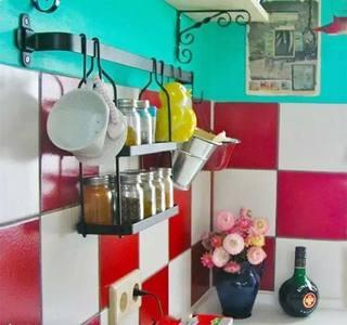 厨房收纳装修欣赏图