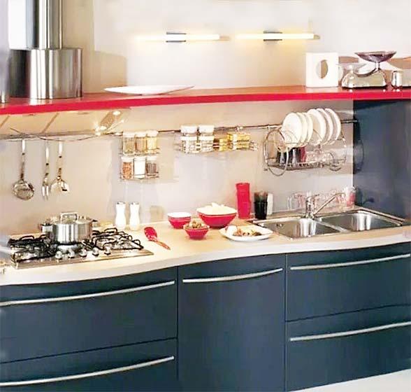 厨房收纳设计平面图