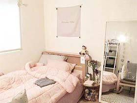 创造自己的世界  10款出租屋卧室改造图片