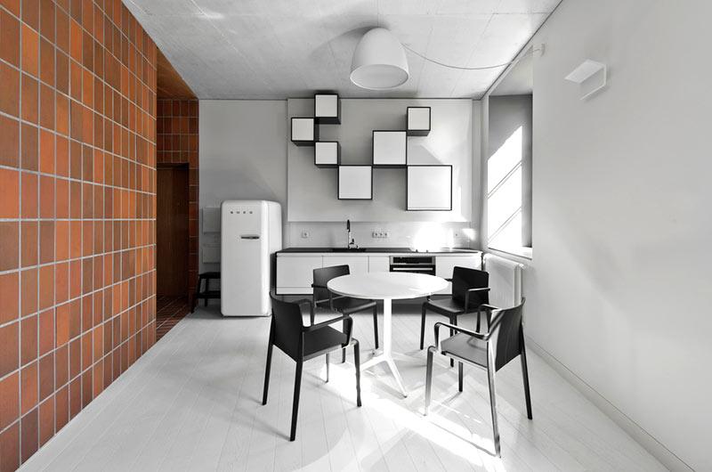 45平小户型公寓餐厅装饰装修