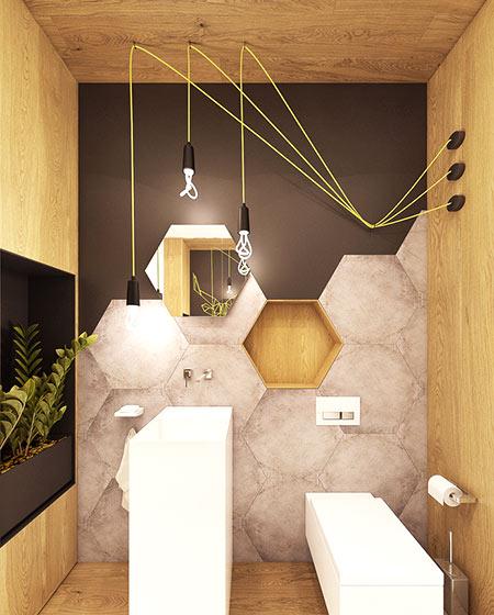 小户型卫生间瓷砖装修设计