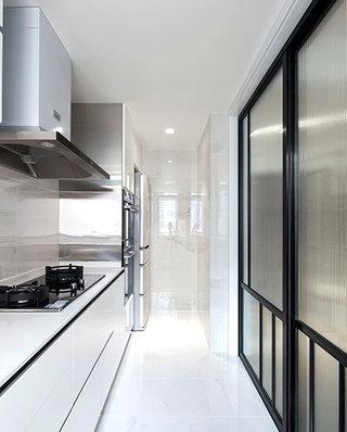 99平北欧风格二居厨房设计图
