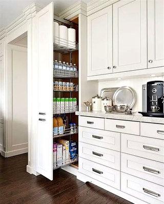 整体厨房装修推拉柜