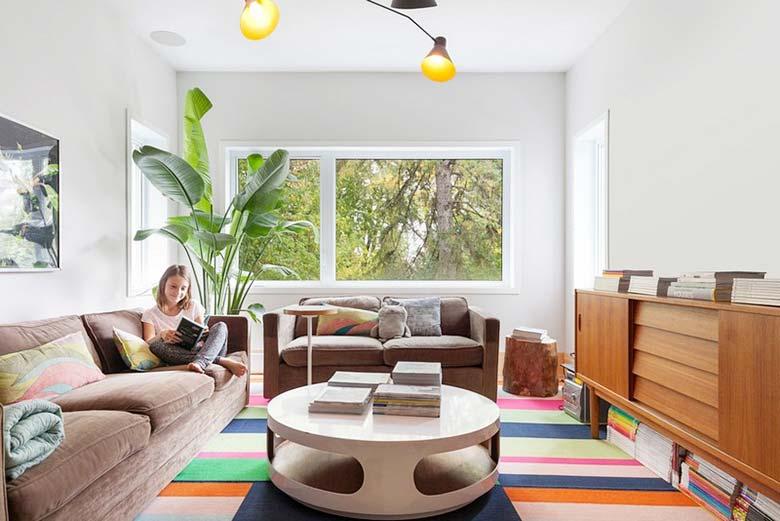 混搭复式公寓客厅图片